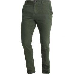 Spodnie męskie: Springfield LINO  Chinosy greens