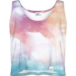 Colour Pleasure Koszulka damska CP-035 57 różowo-niebieska r. XS-S. Różowe bluzki damskie marki Colour pleasure. Za 64,14 zł.