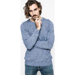 Medicine - Sweter Nocturnal. Niebieskie swetry klasyczne męskie marki MEDICINE, l, z bawełny, z okrągłym kołnierzem. W wyprzedaży za 59,90 zł.