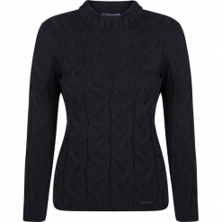 Sweter w kolorze granatowym. Niebieskie swetry klasyczne damskie marki Giorgio di Mare, xs, z dzianiny, ze stójką. W wyprzedaży za 173,95 zł.