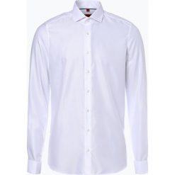 Koszule męskie na spinki: Finshley & Harding – Koszula męska niewymagająca prasowania z wywijanymi mankietami, czarny