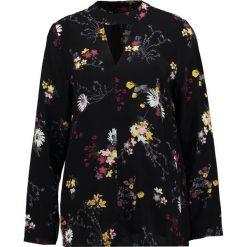 Bluzki asymetryczne: Soaked in Luxury HANNE Bluzka black floating