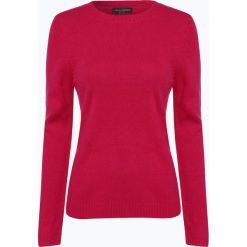 Franco Callegari - Damski sweter z wełny merino, różowy. Zielone swetry klasyczne damskie marki Franco Callegari, z napisami. Za 229,95 zł.