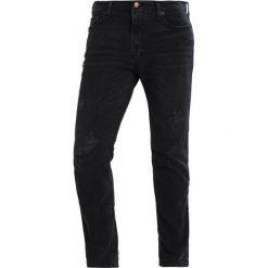 Jeansy męskie regular: Hollister Co. Jeansy Slim Fit black