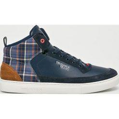 Trussardi Jeans - Buty. Szare buty skate męskie Trussardi Jeans, z gumy, na sznurówki. Za 549,90 zł.