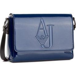 Torebka ARMANI JEANS - 922307 7A801 09934 Ocean Blue. Czarne listonoszki damskie marki Armani Jeans, z jeansu. W wyprzedaży za 419,00 zł.