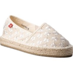Tomsy damskie: Espadryle BIG STAR – AA274679 Beige