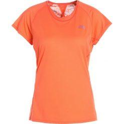 The North Face BETTER THAN NAKED Tshirt z nadrukiem nasturtium orange. Brązowe topy sportowe damskie marki The North Face, s, z nadrukiem, z materiału. W wyprzedaży za 125,95 zł.