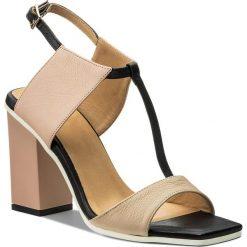Rzymianki damskie: Sandały BALDOWSKI - D01505-3025-001 Botalato C.Beż/Nude/Czarny