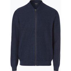 Swetry męskie: Jack & Jones – Kardigan męski, niebieski