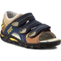 Sandały chłopięce: Sandały BARTEK – 36106/BAI Niebiesko Brązowy