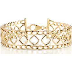 Bransoletki damskie na nogę: PROMOCJA Bransoletka Złota - złoto żółte 585