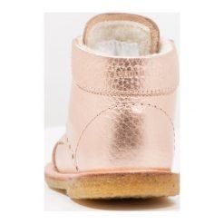 Buciki niemowlęce chłopięce: ANGULUS Obuwie do nauki chodzenia light copper
