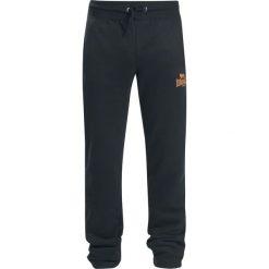 Lonsdale London Rochdale Spodnie dresowe czarny/pomarańczowy. Brązowe spodnie dresowe męskie marki Lonsdale London, z nadrukiem, z dresówki. Za 121,90 zł.