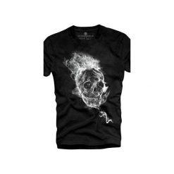 T-shirt UNDERWORLD Ring spun cotton Smoke Skull. Szare t-shirty męskie z nadrukiem marki Underworld, m, z bawełny. Za 59,99 zł.