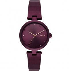 Dkny - Zegarek NY2754. Brązowe zegarki damskie DKNY, szklane. Za 899,90 zł.