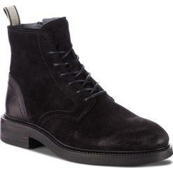 Kozaki GANT - Martin 17643906 Black G00. Czarne glany męskie marki GANT, ze skóry. W wyprzedaży za 589,00 zł.