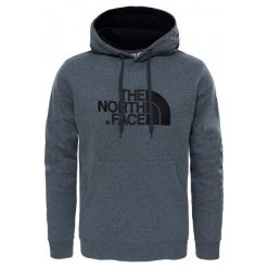 Bluzy męskie: The North Face Bluza M Drew Peak Pullover Hoodie Tnf Medium Grey Heather / Tnf Black Xxl