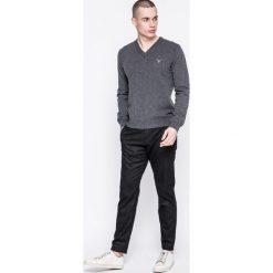 Gant - Sweter. Szare swetry klasyczne męskie marki GANT, m, z dzianiny. W wyprzedaży za 359,90 zł.