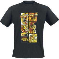 T-shirty męskie z nadrukiem: Ready Player One Comic Strip T-Shirt czarny