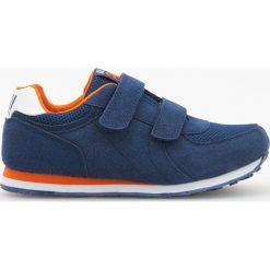 Buty skate męskie: Sportowe buty na rzepy - Granatowy