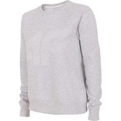 Bluzy rozpinane damskie: Bluza damska BLD002 - chłodny jasny szar