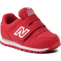 Trampki chłopięce: Sneakersy NEW BALANCE – KV373FRI Czerwony
