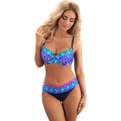 Bikini: Bikini w kolorze granatowym ze wzorem