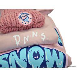 Czapki zimowe damskie: Czapka Cold Hearted Dusty Pink Pompon