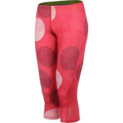 Odzież damska: legginsy do biegania damskie 3/4 REEBOK ESSENTIALS CAPRI DOT / B86564