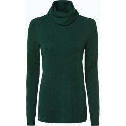 Marie Lund - Damski sweter z wełny merino, zielony. Zielone golfy damskie Marie Lund, s, z dzianiny. Za 229,95 zł.