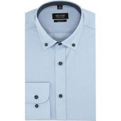 Koszula bexley 2627 długi rękaw slim fit niebieski. Czerwone koszule męskie slim marki Recman, m, z długim rękawem. Za 129,00 zł.