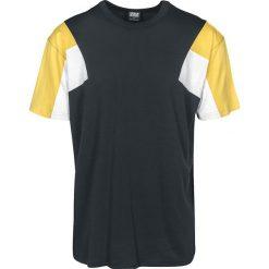 T-shirty męskie: Urban Classics 3-Tone Tee T-Shirt czarny/biały/żółty
