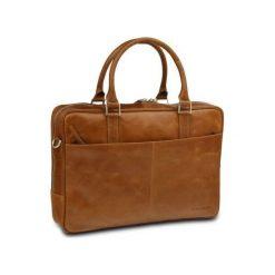 """Torba skórzana na laptopa 16"""" Jasnobrązowa (BG16GT000423). Brązowe torby na laptopa marki NoName. Za 911,95 zł."""