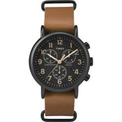 Timex - Zegarek TW2P97500. Czarne zegarki męskie marki Fossil, szklane. W wyprzedaży za 399,90 zł.