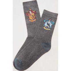 2pack skarpet Harry Potter - Wielobarwn. Niebieskie skarpetki męskie marki Reserved. Za 25,99 zł.