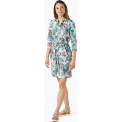 Marie Lund - Sukienka damska, niebieski. Niebieskie sukienki z falbanami Marie Lund, z nadrukiem, z koszulowym kołnierzykiem, koszulowe. Za 299,95 zł.