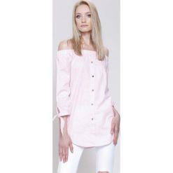 Bluzki damskie: Różowa Bluzka Lifestyle