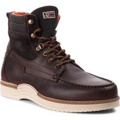 Kozaki NAPAPIJRI - Edmund 17841021 Dark Brown N46. Szare buty zimowe męskie marki Napapijri, z dzianiny. W wyprzedaży za 519,00 zł.