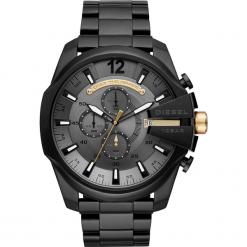 Zegarek DIESEL - Mega Chief DZ4479  Black/Black. Czarne zegarki męskie Diesel. Za 1195,00 zł.