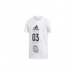 T-shirty z krótkim rękawem Dziecko  adidas  Koszulka Sport ID. Niebieskie t-shirty chłopięce z krótkim rękawem marki S.Oliver, z nadrukiem, z bawełny. Za 79,95 zł.