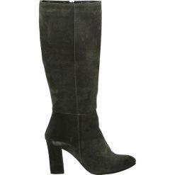 Kozaki ocieplane - 208 CAM SHARK. Czarne buty zimowe damskie marki Venezia, z materiału, na obcasie. Za 219,00 zł.