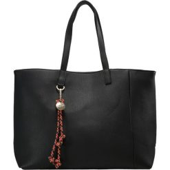 Shopper bag damskie: Sisley SET Torba na zakupy black