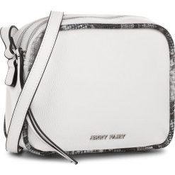 Torebka JENNY FAIRY - RC13356  Biały. Białe listonoszki damskie Jenny Fairy, ze skóry ekologicznej. Za 89,99 zł.