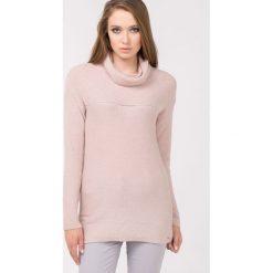 Swetry klasyczne damskie: Sweter z półgolfem