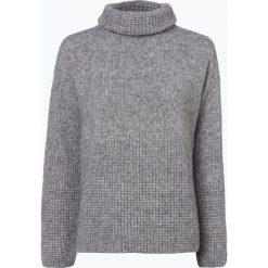 Swetry klasyczne damskie: BOSS Casual - Sweter damski z dodatkiem alpaki – Ikallah, szary