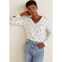 Mango - Bluzka Vegas. Szare bluzki z odkrytymi ramionami Mango, l, z tkaniny, casualowe. Za 119,90 zł.