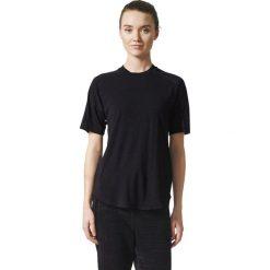 Bluzki damskie: Adidas Koszulka damska ZNE Tee 2 Wool czarna  r. L  (CE9559)