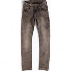 Blue Effect - Jeansy chłopięce skinny fit, szary. Czarne jeansy chłopięce marki bonprix, z aplikacjami. Za 179,95 zł.