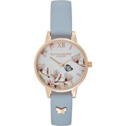 Olivia Burton Zegarek chalk blue/rosegoldcoloured. Niebieskie, analogowe zegarki damskie Olivia Burton. Za 529,00 zł.